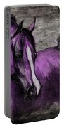 Purple One Portable Battery Charger by Angel  Tarantella