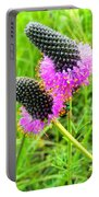 Purple Pair Portable Battery Charger