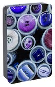 Purple Palate Portable Battery Charger