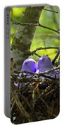 Purple Peeps Pair Portable Battery Charger