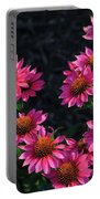 Purple Pow Echinacea  Portable Battery Charger
