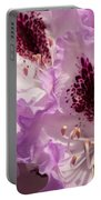 Purple Rhodo Portable Battery Charger