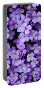 Purple Rockcress Portable Battery Charger