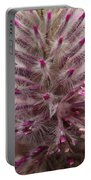 Purple Spike Portable Battery Charger