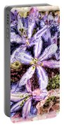 Purple Stars Photoart Portable Battery Charger