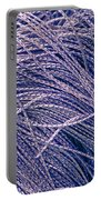 Purple String Portable Battery Charger