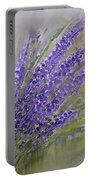 Purple Lavender Summer Portable Battery Charger