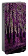 Purple Trees Portable Battery Charger