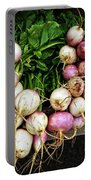 Purple Turnips  Portable Battery Charger