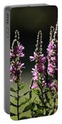 Purple Wild Flowers - 1 Portable Battery Charger