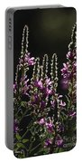 Purple Wild Flowers - 2 Portable Battery Charger