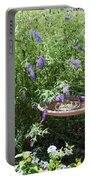 Purple Wild Flowers 1 Portable Battery Charger