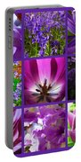 Purple Window Portable Battery Charger