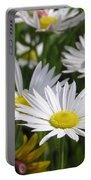 Pushing Up Daisies Portable Battery Charger