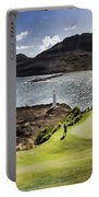 Putting Green In Paradise Portable Battery Charger