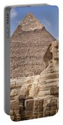 Pyramids And Sphinx In Egypt Portable Battery Charger