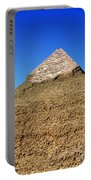Pyramids Of Giza 15 Portable Battery Charger by Antony McAulay