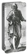 Pyrrho, Ancient Greek Philosopher Portable Battery Charger