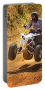 Quad Motorbike Rider Portable Battery Charger