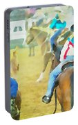 Quadrille Girls Portable Battery Charger