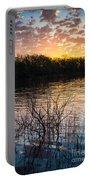 Quanah Parker Lake Sunrise Portable Battery Charger