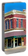 Quartzsite Building Built In 1884 In Pipestone-minnesota Portable Battery Charger