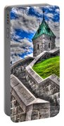 Quebec City Fortress Gates Portable Battery Charger