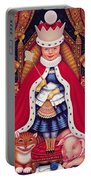 Queen Alice, 2008 Oil And Tempera On Panel Portable Battery Charger