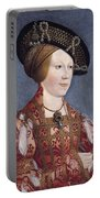 Queen Anne Of Hungary And Bohemia Portable Battery Charger