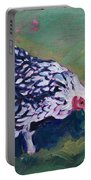 Queen Annes Lace        Hen Portable Battery Charger