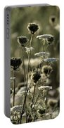 Queen Annes Lace - 1 Portable Battery Charger