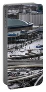Queen City Winter Wonderland After The Storm Series 0014 Portable Battery Charger