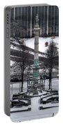 Queen City Winter Wonderland After The Storm Series 0026 Portable Battery Charger