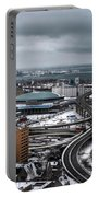 Queen City Winter Wonderland After The Storm Series 006 Portable Battery Charger