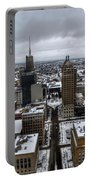 Queen City Winter Wonderland After The Storm Series 007 Portable Battery Charger