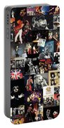 Queen Collage Portable Battery Charger