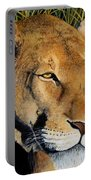 Queen Of The African Savannah Portable Battery Charger