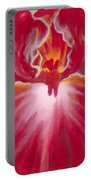 Queen Red Iris Portable Battery Charger