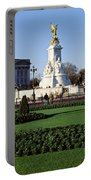 Queen Victoria Memorial At Buckingham Portable Battery Charger