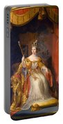 Queen Victoria Of England (1819-1901) Portable Battery Charger