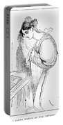 Queen Victoria Sketch Portable Battery Charger