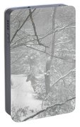 Querida In The Snow Storm Portable Battery Charger