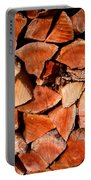 Quick Trick Wood Stack Portable Battery Charger