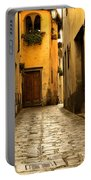 Quiet Lane In Tuscany 1 Portable Battery Charger