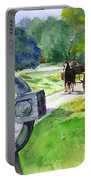 Quiet Man Watercolor 2 Portable Battery Charger