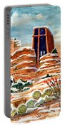 Quiet Snowfall  Sedona  Arizona Portable Battery Charger