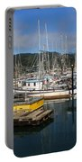Quiet Time At The Harbor Portable Battery Charger