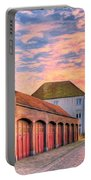 Quiet Village Sunset Portable Battery Charger