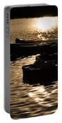 Quiet Waters At Sunset Portable Battery Charger