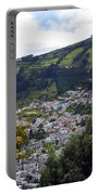 Quito From El Panecillo Portable Battery Charger